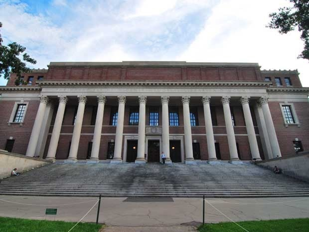 Picture of Widener Library Harvard University