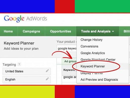 Google Keyword Planner: Brainstorming Keywords