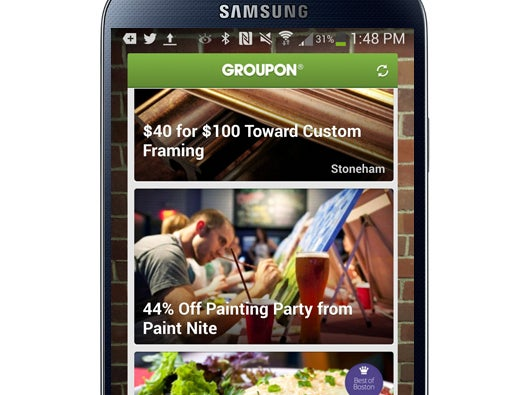 Groupon Widget for Android