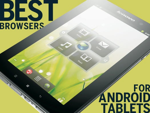 Android tablet browser review: Chrome vs  Dolphin vs