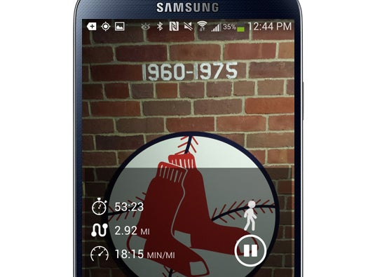 RunKeeper Widget for Android
