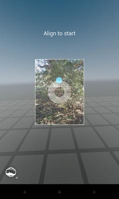 Photo Sphere screen