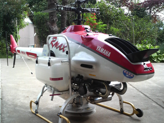 Yamaha Rmax autonomous helicopter