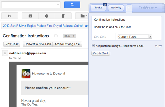 Gmail - Taskforce screenshot