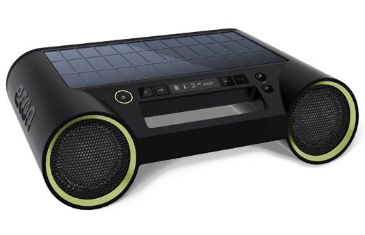 Eton Rukus Solar Bluetooth stereo