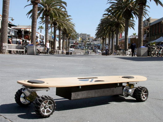 ZBoard powered skateboard
