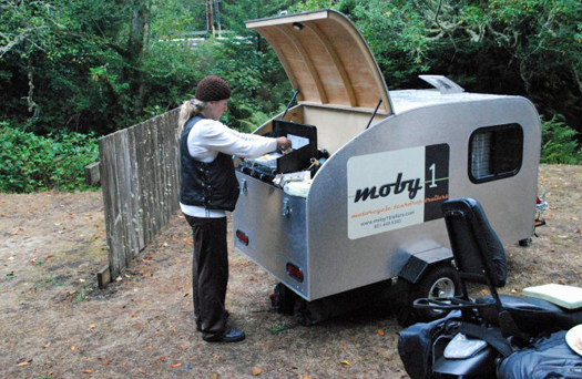 Moby1 C2 Compact/Cycle trailer