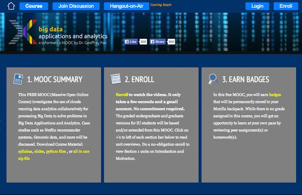Big Data Applications and Analytics