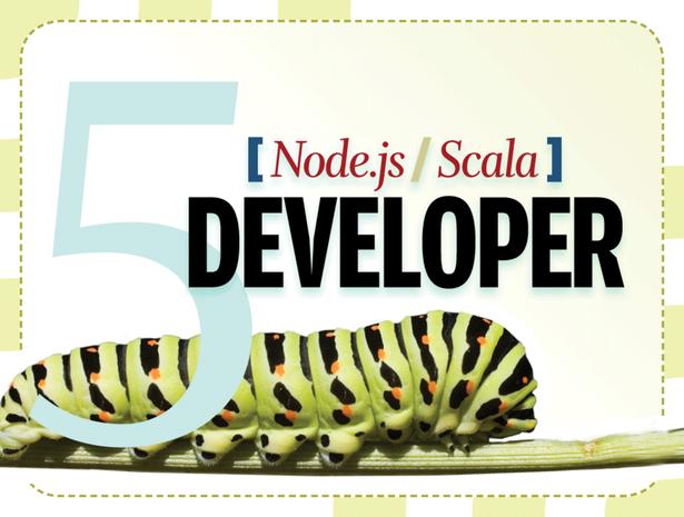 Node.js developer, Scala developer