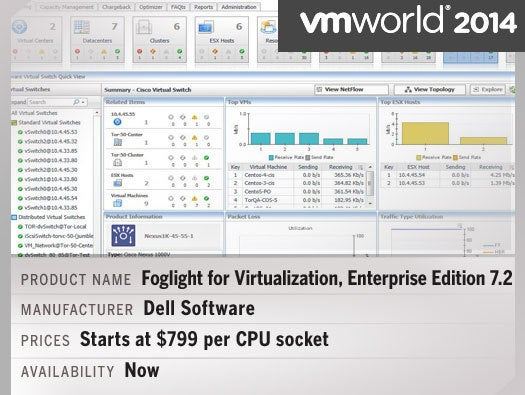 Foglight for Virtualization, Enterprise Edition 7.2