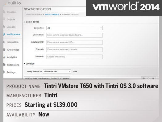 Tintri VMstore T650 with Tintri OS 3.0 software