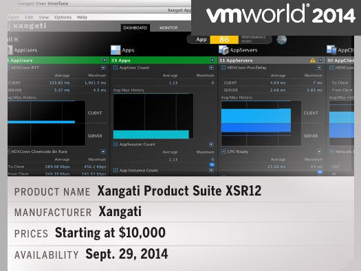 Xangati Product Suite XSR12