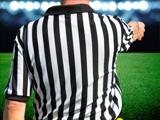 Referee Communication System: Aiming for Fewer Controversial Calls