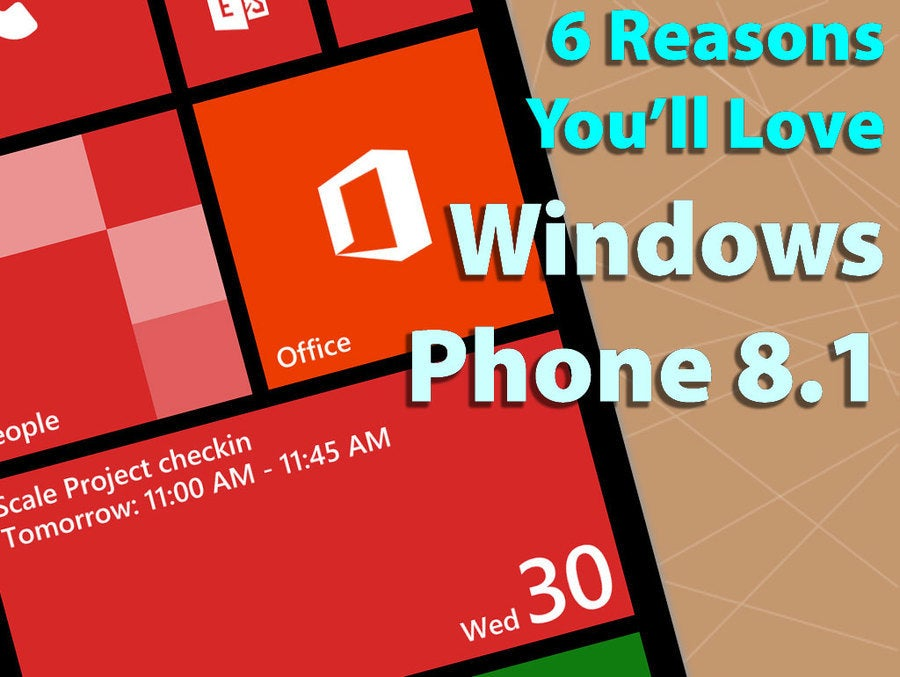 6 reasons youll love windows phone 81 infoworld sciox Image collections