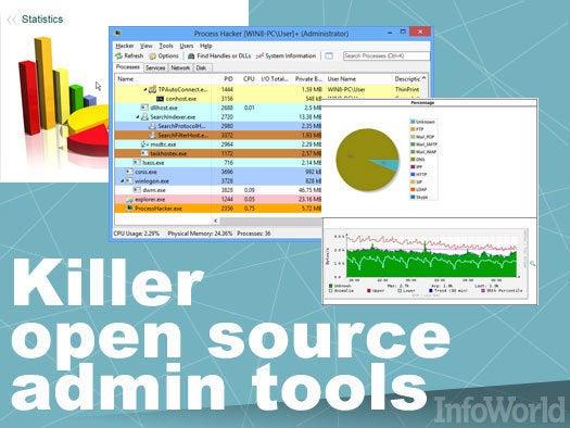 13 killer open source admin tools   InfoWorld