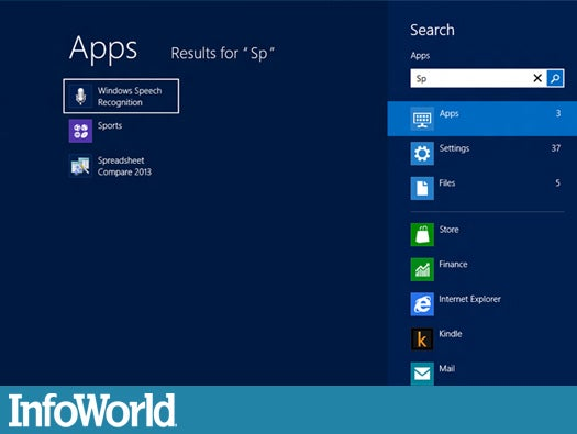 Coping with Windows 8 Start: Type-to-search