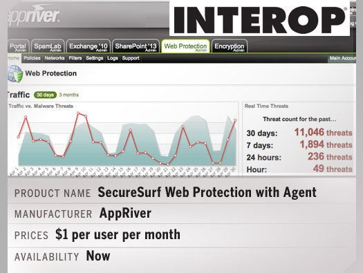 AppRiver's SecureSurf Web Protection with Agent