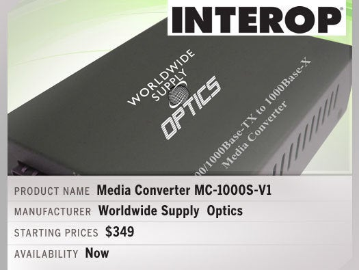 Worldwide Supply Media Converter MC-1000S-V1.