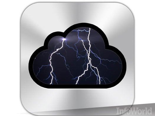iCloud has a rainy day