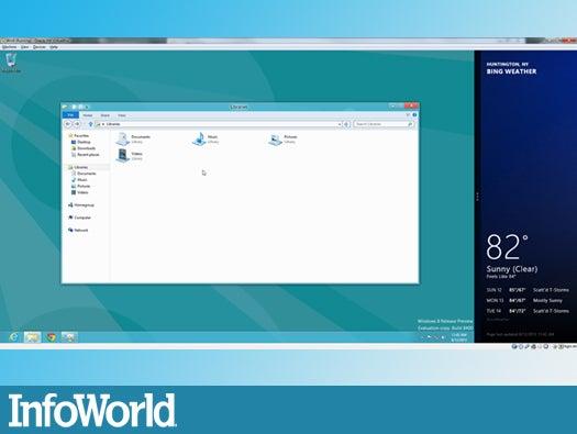Managing windows in Metro mode