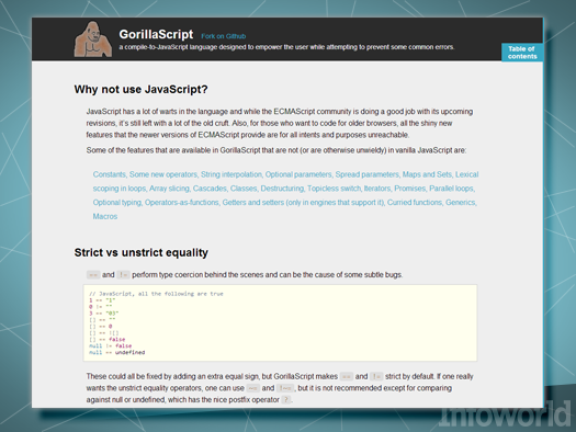 GorillaScript 0.9.7