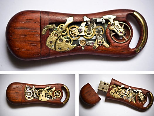 Mechanical Memory Key No. 4 - steampunk USB drive