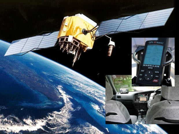 U.S. launches first GPS satellite