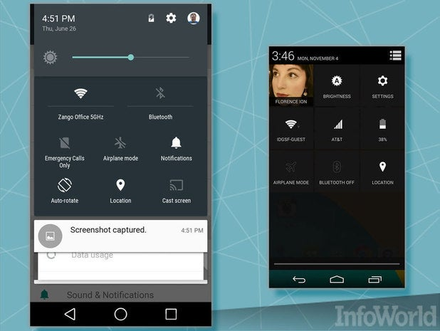 Android L: The feature-packed Notifications Bar