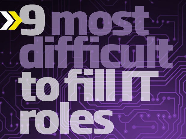The 9 most difficult-to-source tech & IT roles