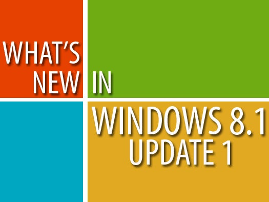 What\'s new in the Windows 8.1 Update
