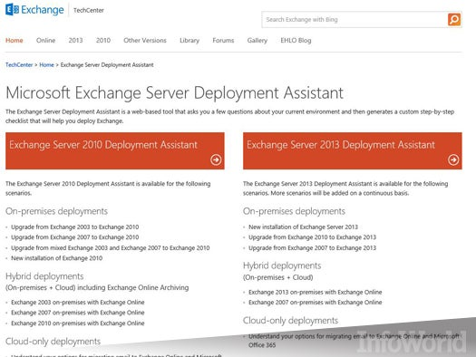 Microsoft Exchange Server Deployment Assistant