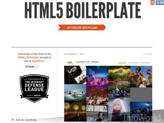 4. HTML5 Boilerplate