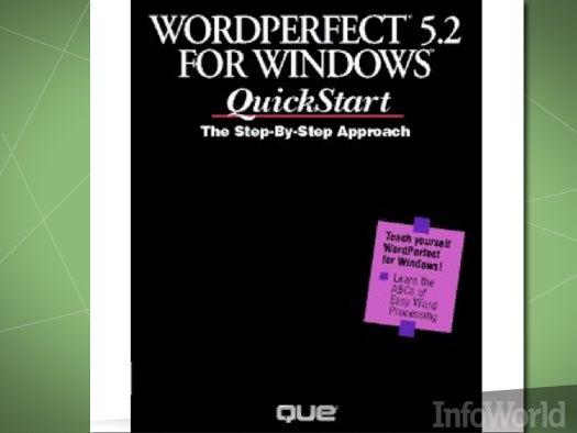 Word processors: WordPerfect for Windows