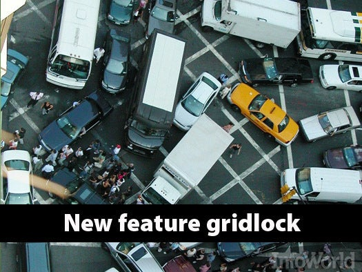 New feature gridlock