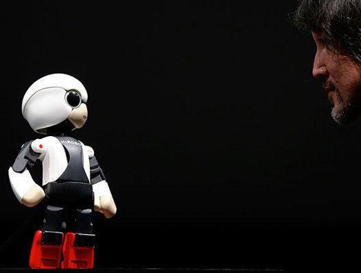 Humanoid communication robot Kirobo