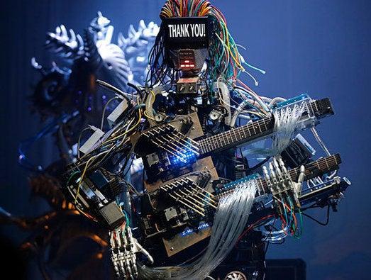 robot rock band Z-Machines