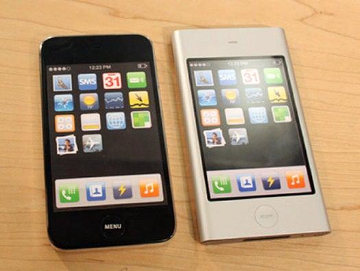 Honing the iPhone menu