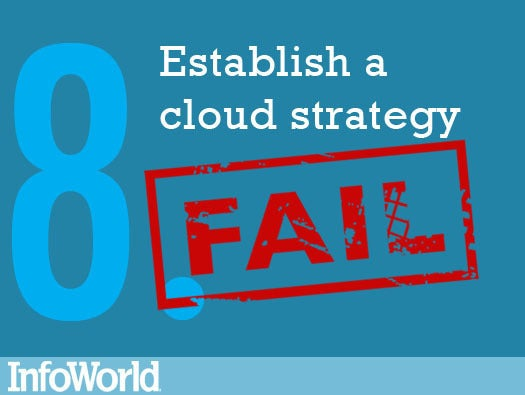 8. Establish a cloud computing strategy