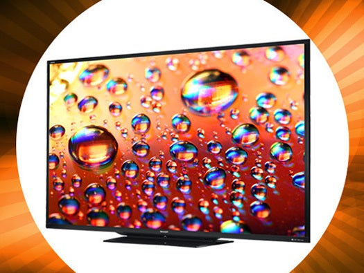 Sharp 90-Inch Aquos LC-90LE745U LED HDTV