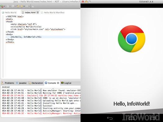 Mobile Chrome Development Kit