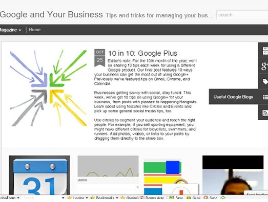 Blog: Google and Your Business