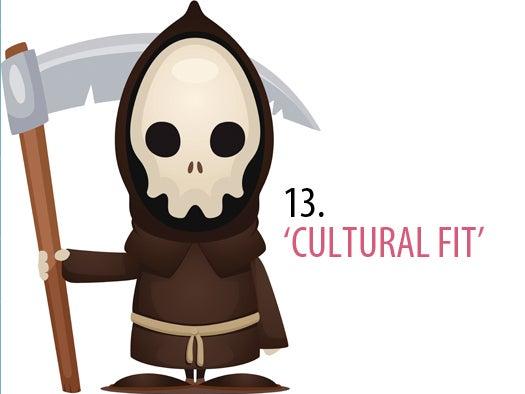 13. Cultural fit