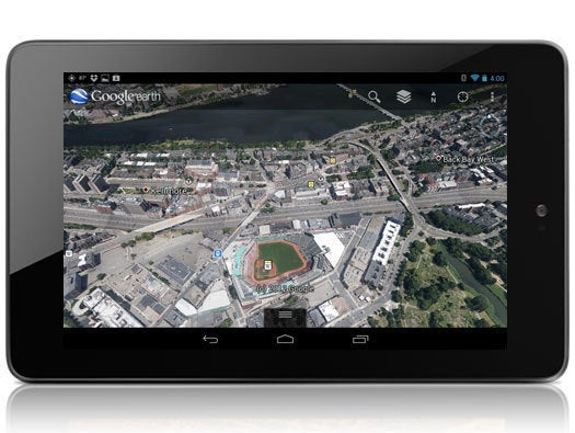 Google Earth for Android Tablets