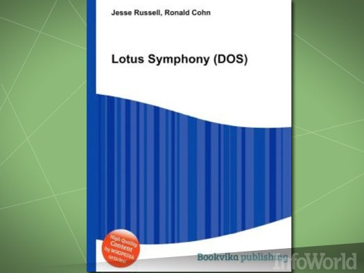 Integrated suites: Lotus Symphony for DOS
