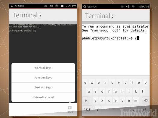 Ubuntu Touch Terminal app