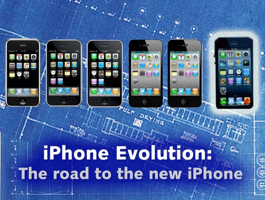 The path to the iPhone 5