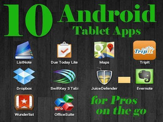 10 Android tablet apps for IT pros on the go   InfoWorld