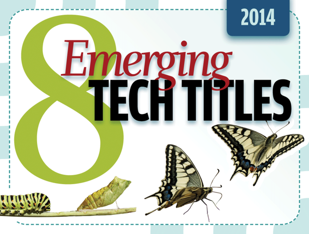 8 emerging tech titles