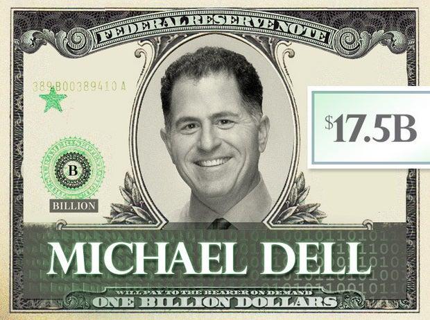 Michael Dell, $17.5B