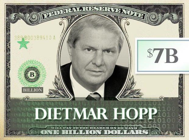 Dietmar Hopp, $7B